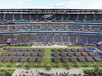 Army-Navy 2018 march on