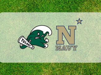 Tulane and Navy logos